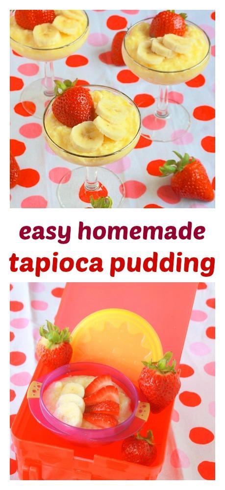 Fluffy, creamy: Easy Homemade Tapioca Pudding | TeaspoonOfSpice.com
