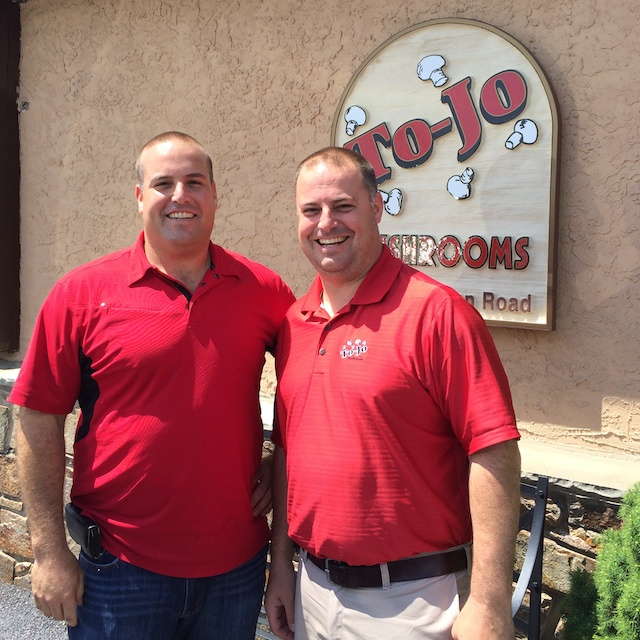 Tony and Joe D'Amico - 4th generation owners of To-Jo Mushrooms via @tspbasil