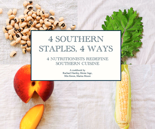 4 Southern Staples, 4 Ways eCookbook giveaway | Teaspoonofspice.com