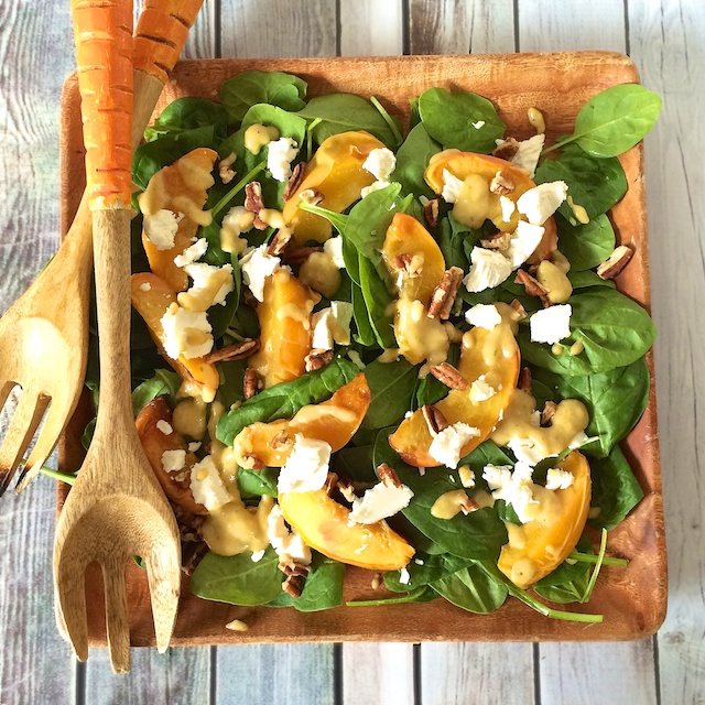 Roasted Peach Salad from 4 Southern Staples, 4 Ways