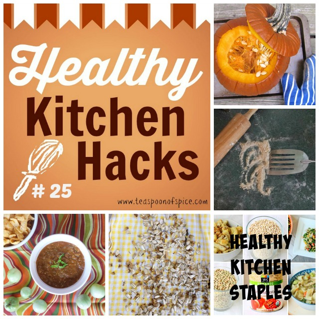 #HealthyKitchenHacks | CAN YOU SUB GREEN TOMATOES * HOW TO COOK A PUMPKIN WHOLE * HOW TO ROAST RAW SUNFLOWER SEEDS * HEALTHY KITCHEN STAPLES * HOW TO CLEAN UP STUCK ON DOUGH
