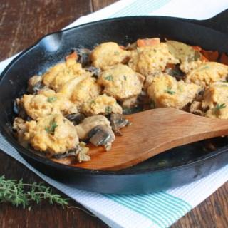 Chicken and Butternut Dumplings