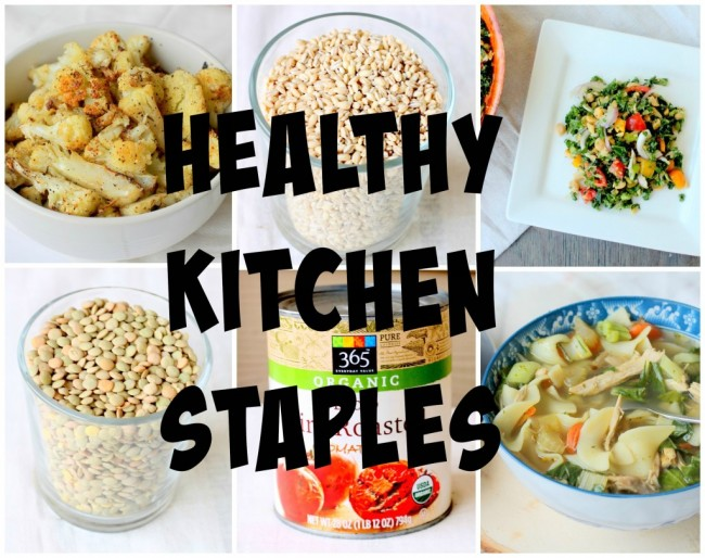 How to Stock a Healthy Pantry | #HealthyKitchenHack