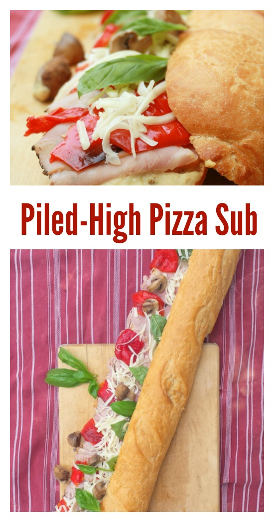 Pizza Sub Sandwich | Healthy Hoagie | Good Grinder #AD @tspcurry