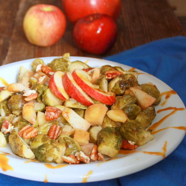 Slow cooker brussels sprouts apples