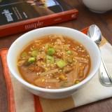 Slow Cooker Chicken Thigh Hot Pot | Teaspoonofspice.com