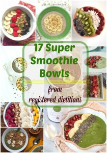 17 Super Smoothie Bowls From Dietitian Bloggers
