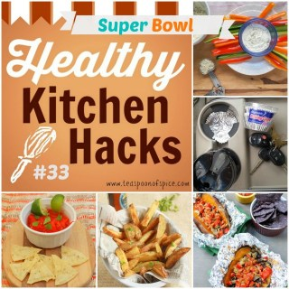 Crunchy Baked Fries * Never Clean Your Cup Holder Again * Homemade Sour Cream & Onion Mix * Slow Cooker Sweet Potatoes * Easy Lime Salt Tortilla Chips - SUPER BOWL #Healthy Kitchen Hacks   @TspCurry
