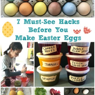 Learn how to make natural dyes plus 6 more tips for hard boiling, dying and peeling your Easter Eggs @tspbasil