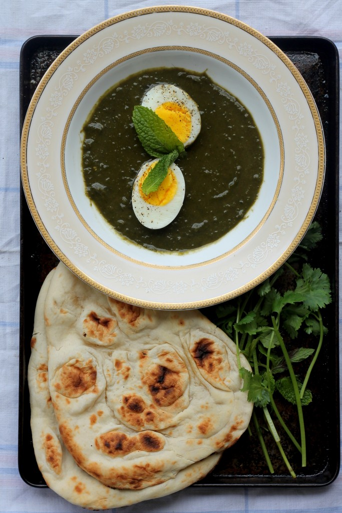 With your leftover hard boiled eggs, make Green Masala Egg Curry via Dixya @Food, Pleasure & Health @tspbasil