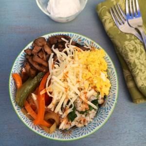 Breakfast Fajita Bowls | The Recipe ReDux