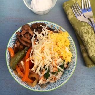 Breakfast Fajita Bowls