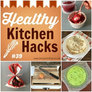 *Prevent Guacamole From Turning Brown* *Homemade Corn Tortillas Without a Press* [Healthy Kitchen Hacks] *How To Make Instant Counter Space* *Easy Way to Sweeten Plain Yogurt* *Quick Way to Close Frozen Bags* @tspbasil