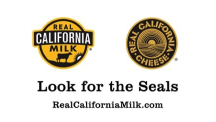 Look for the the Real California Milk & Cheese seals! #sponsored