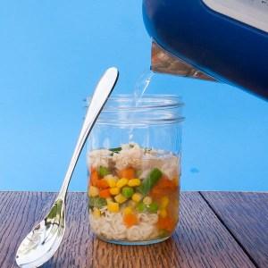 Noodle Soup in a Jar  | The Recipe ReDux