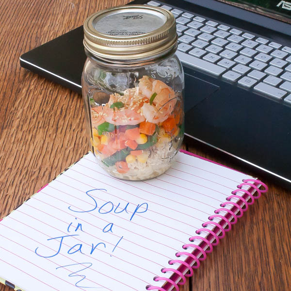 Soup in a Jar - Easy for lunch | @tspcurry