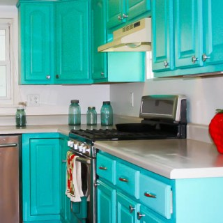 DIY kitchen UPDATE ON A BUDGET | @tspcurry