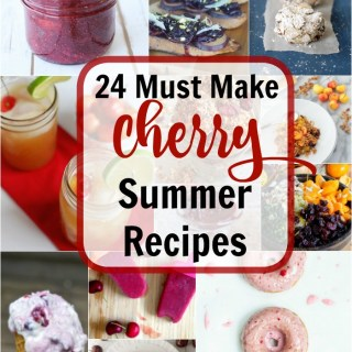 Here are the next best healthy and delicious recipes to make during cherry season! @tspbasil