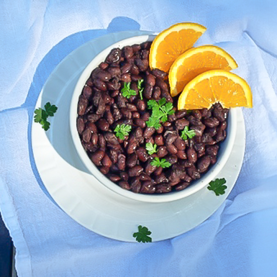 #HealthyKitchenHacks - Orange-Infused Beans | @Tspcurry