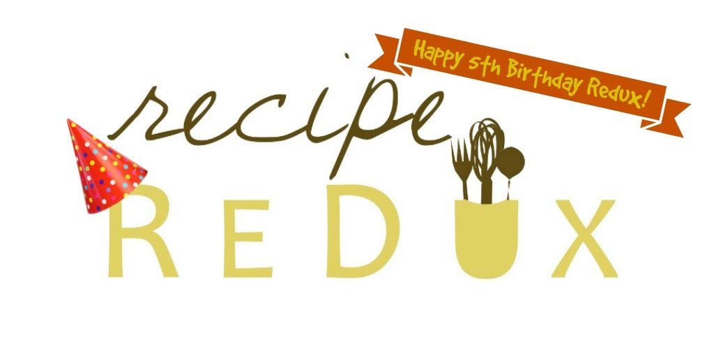 The Recipe ReDux turns 5 | @tspcurry