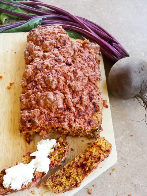 #HealthyKitchenHacks - Beet Bread | @TspCurry