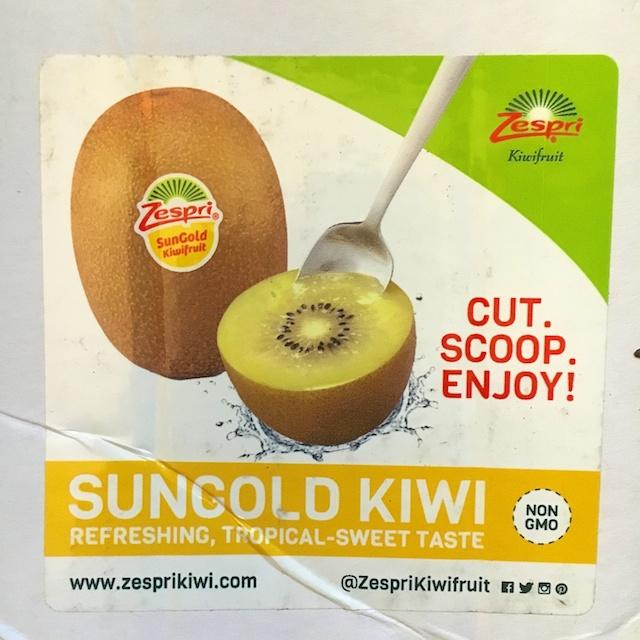 Kiwifruit SunGold: Vietnamese Noodle Salad with Shrimp + Kiwifruit