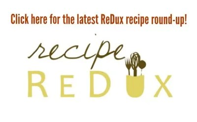 recipe-redux-linky-logo  Freezer to Sheet Pan Lemon Pepper Salmon & Green Beans Recipe ReDux linky logo