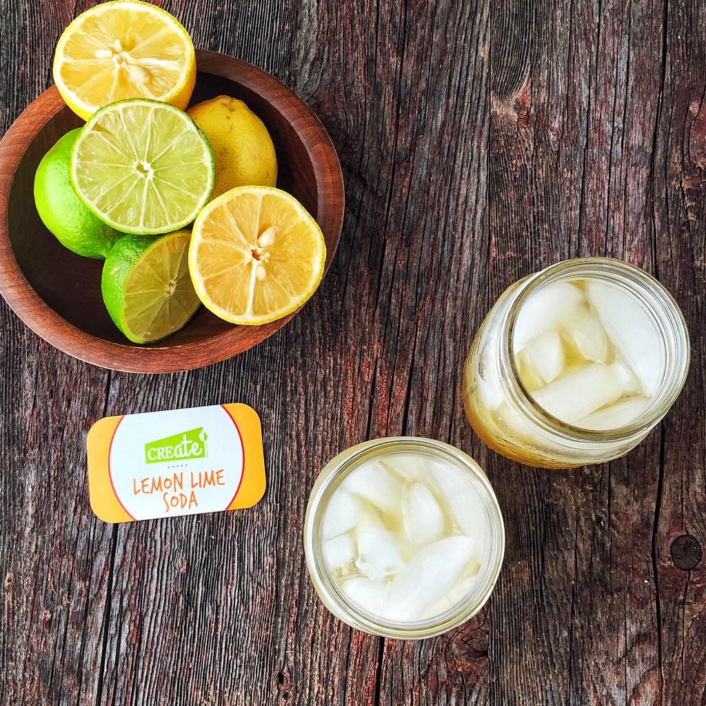 Healthy Kitchen Hacks: Better for You Lemon Lime Soda