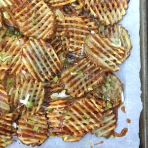 Teriyaki Waffle Fries