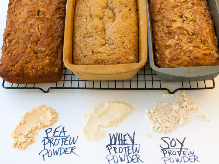 WHICH PROTEIN POWDER IS BEST FOR BAKING? #HealthyKitchenHacks | @TspCurry - TeaspoonOfSpice.com