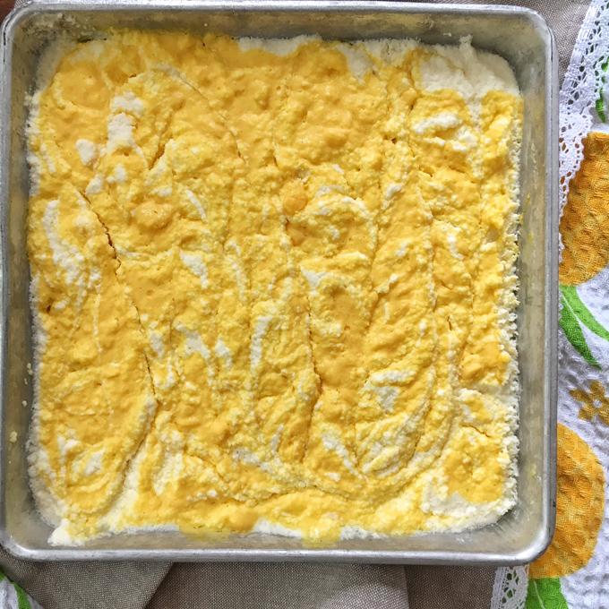 Mango No Bake Cheesecake Squares