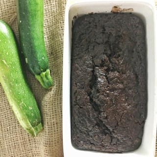 Chocolate Tahini Zucchini Bread