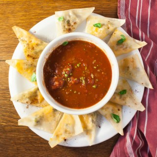 Use Wonton Wrappers to Make Easy Snacks | @TspCurry