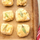 SIMPLE PARMESAN HERB BISCUITS | @TspCurry