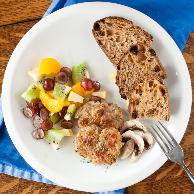 Mushroom Breakfast Sausage   @TspCurry