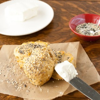 Everything Bagel Bubble Bread | @TspCurry