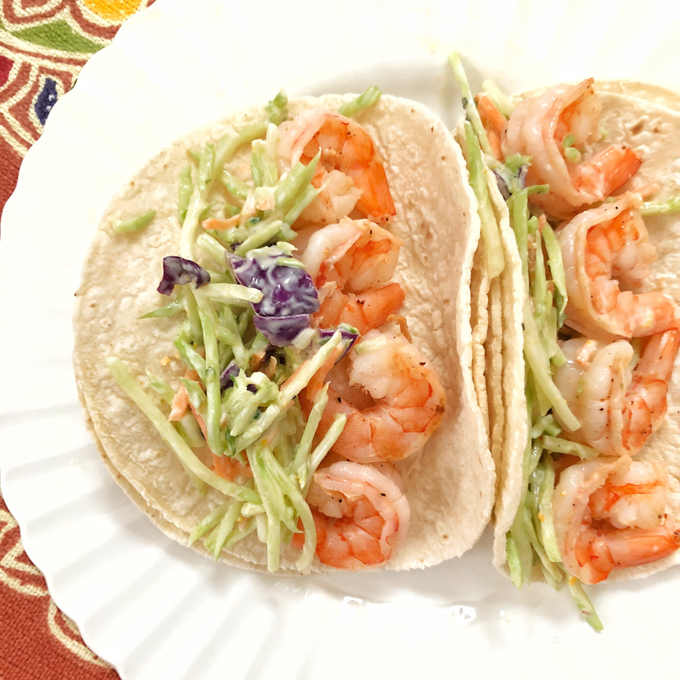 Impress your guests with these Margarita Grilled Shrimp Tacos using Sea Queen Jumbo shrimp from @ALDIUSA. Recipe post at Teaspoonofspice.com #sponsored #ALDILove #shrimp #fish #lent #seafood #shrimprecipe