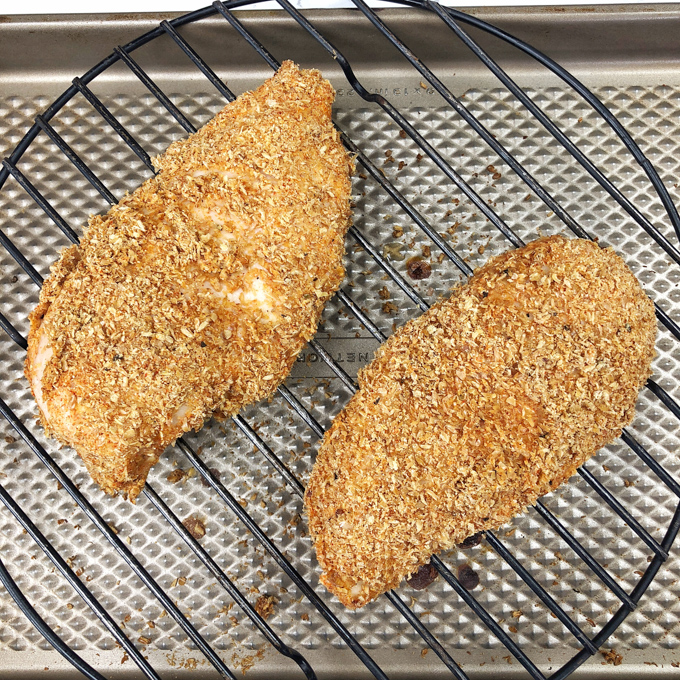 Here are 5 ways to add a boost of fiber and omega-3s with ground flaxseed - like using as a coating for chicken. Recipes at Teaspoonfspice.com