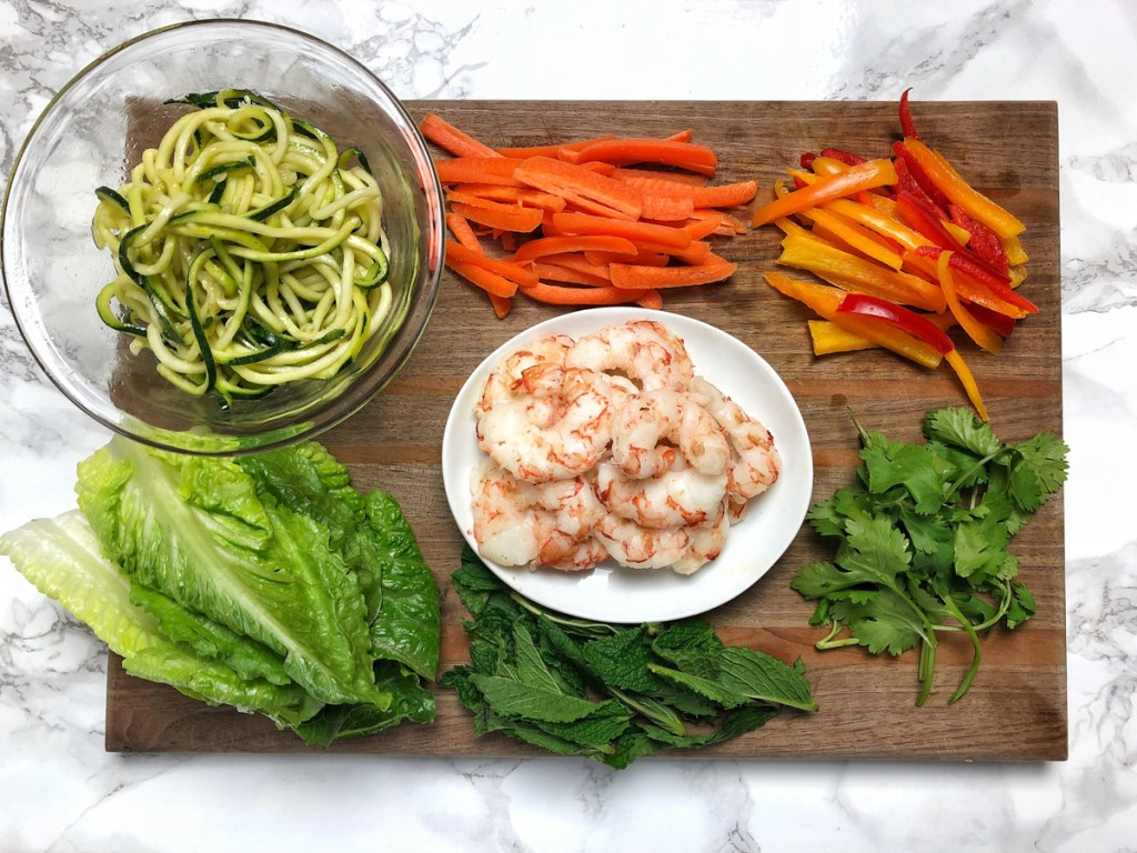 Chopping the vegetables is the most complicated part of Vietnamese-style spring rolls - make them at home with these tips and a 3-ingredient peanut dipping sauce. Recipe at Teaspoonofspice.com