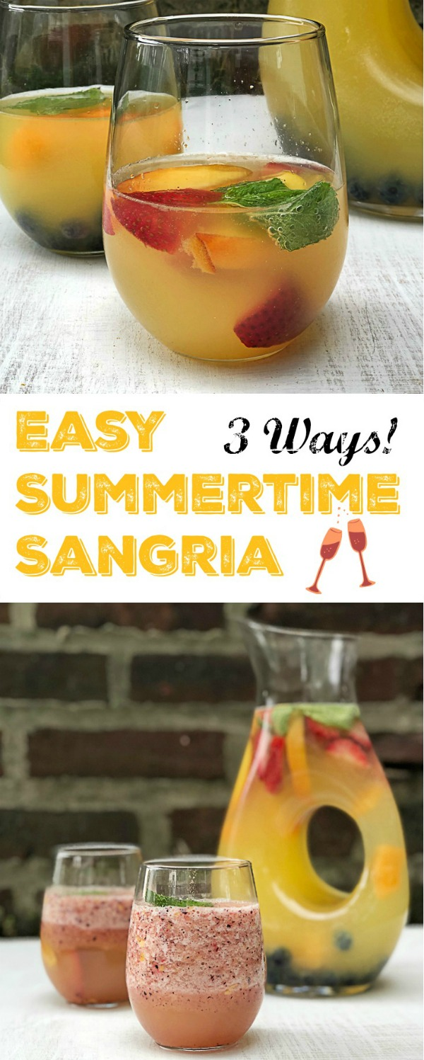 Whip up a pitcher of summer sangria in minutes using these three healthy kitchen hacks at Teaspoonofspice.com