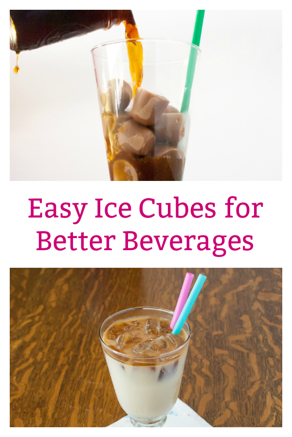 No more watered down coffee: Easy Ice Cubes for Better Beverages - More #Healthy Kitchen Hacks at TeaspoonOfSpice.com