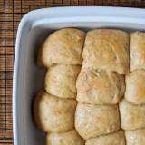 Easy Honey Whole Wheat Dinner Rolls - @TspCurry