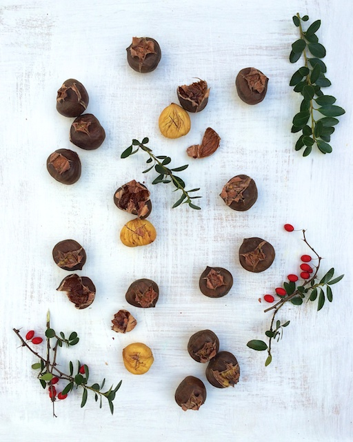 Learn how easy it is to roast chestnuts at home in your oven (vs. an open fire) Teasponoofspice.com