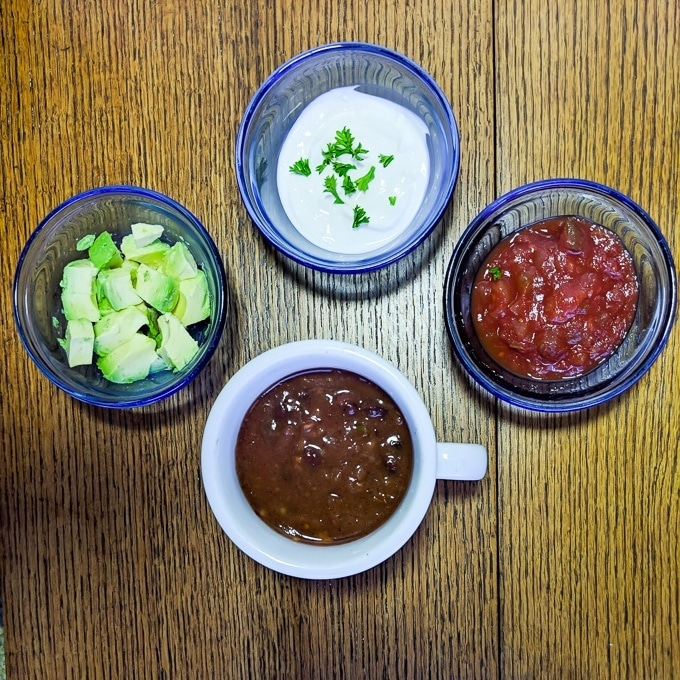 3-Ingredient Microwave Mug Chili | @TspCurry