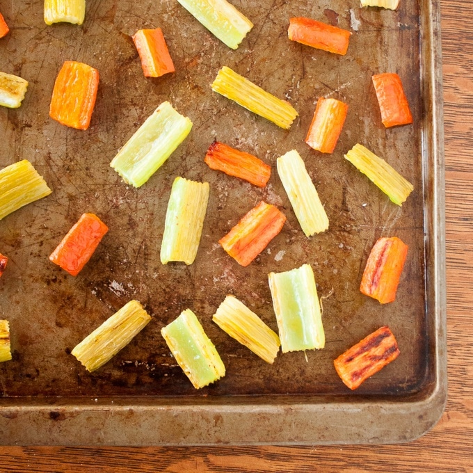 Easy Ways to Use up Celery | @TspCurry