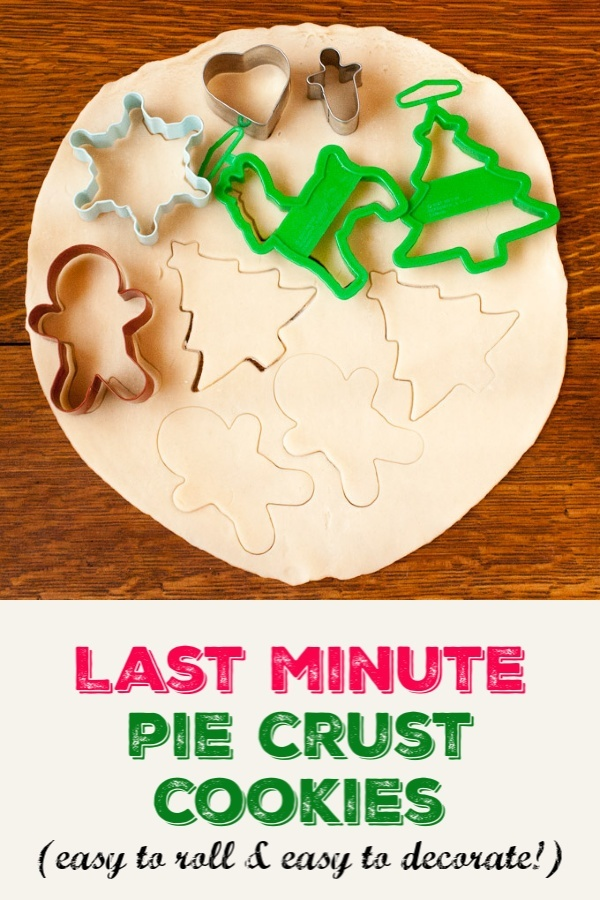 Last Minute Pie Crust Cookies - No Mess. Less Sugar. All the Fun! More Healthy Kitchen Hacks at TeaspoonOfSpice.com