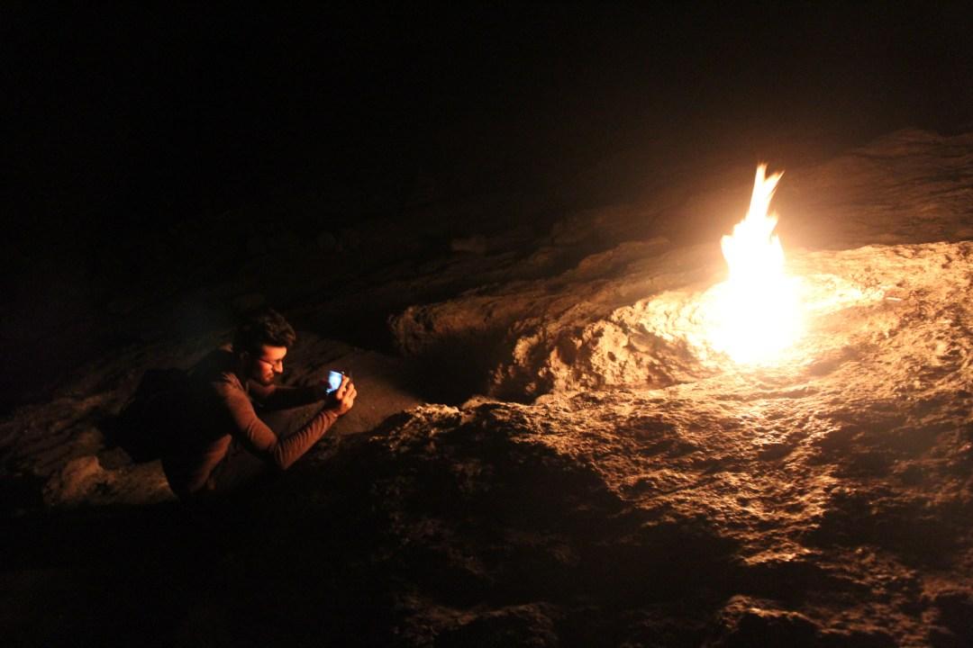 det brændende bjerg, temer, oplevelser i kemer, olympos, blog om Tyrkiet, dansk i tyrkiet