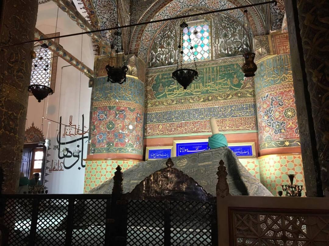Mevlana, mevlana museum, konya, oplevelser i tyrkiet