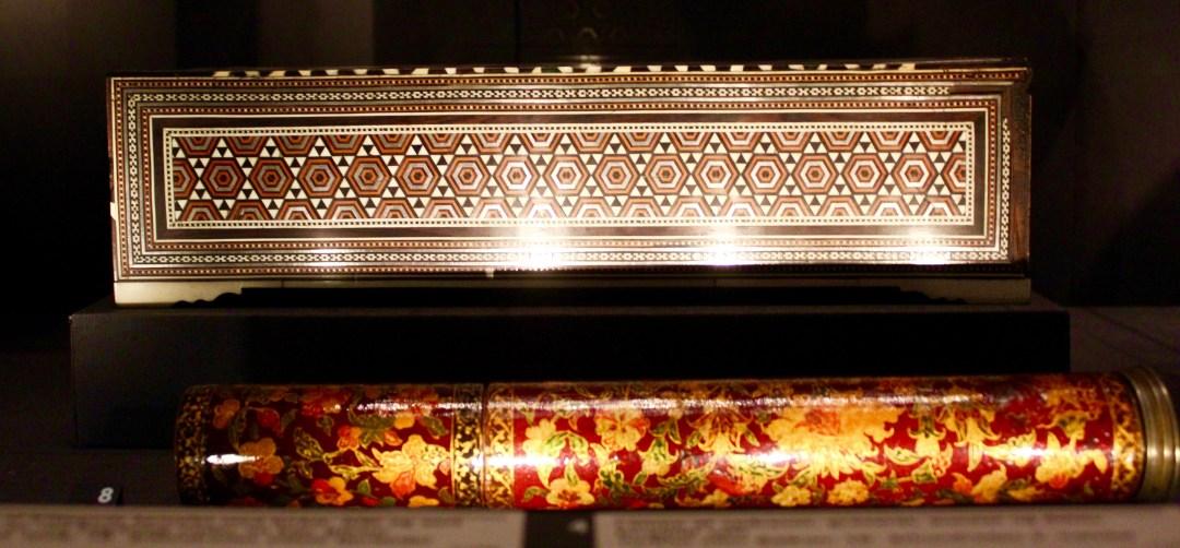 penneæske, antik æske, davids samling, seværdigheder i københavn, islamisk kunst