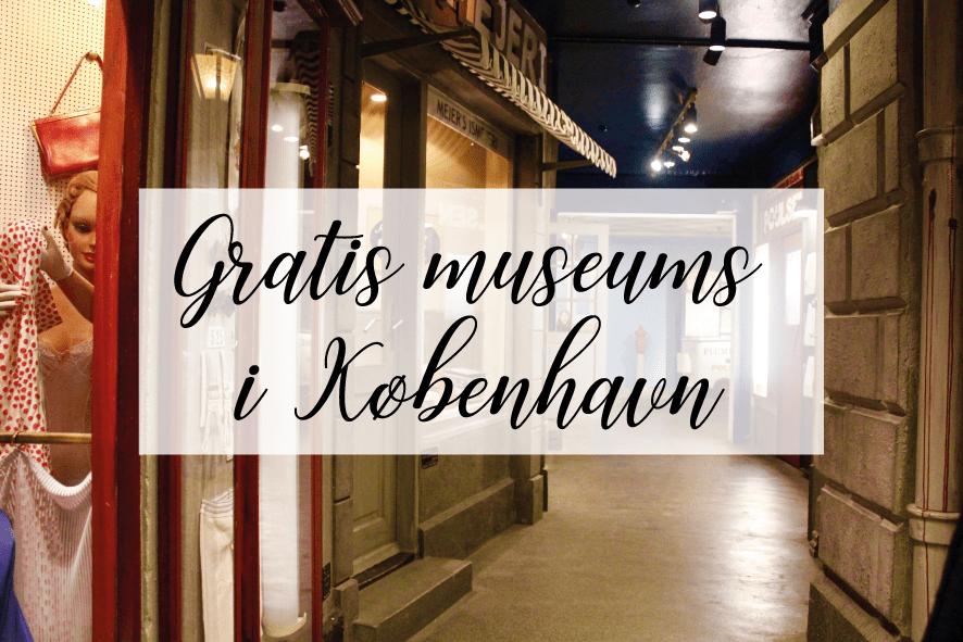 Museumsguide: 18 Gratis museer i København